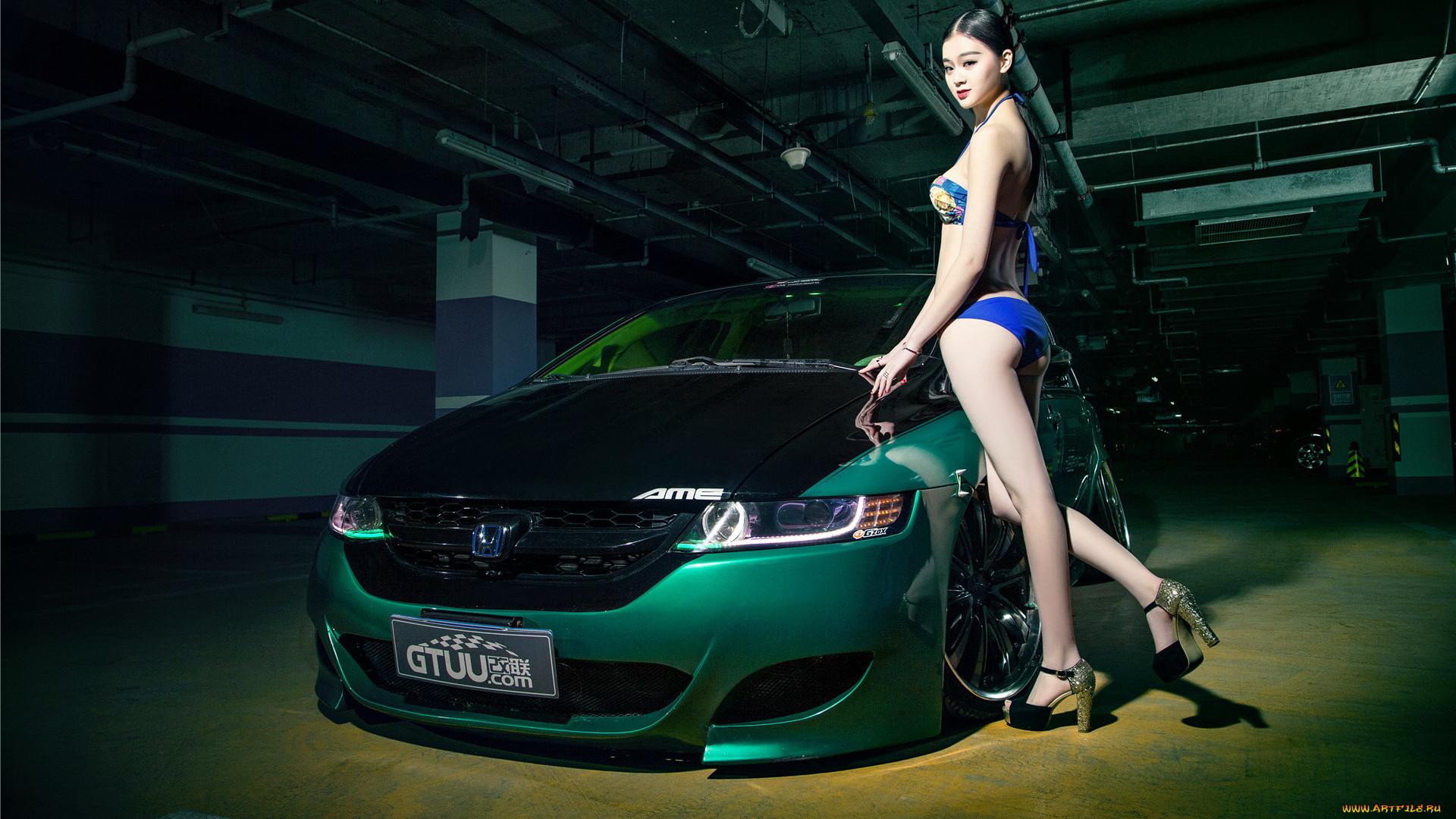 Фото автомобилей хонда с девушками